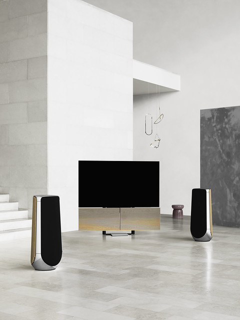 Beosound 2 and Beovision M5 by Bang & Olufsen
