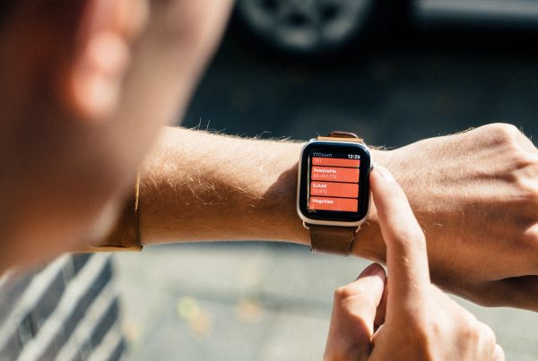 Smart home owner in the U.K. controls his smart home system with his wearable technology